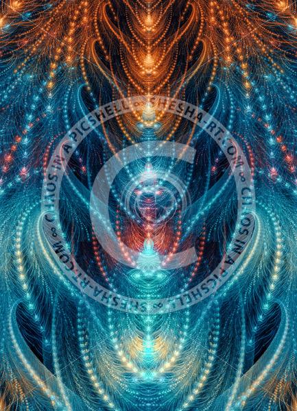 Colorful celestial spine - shesha_rt