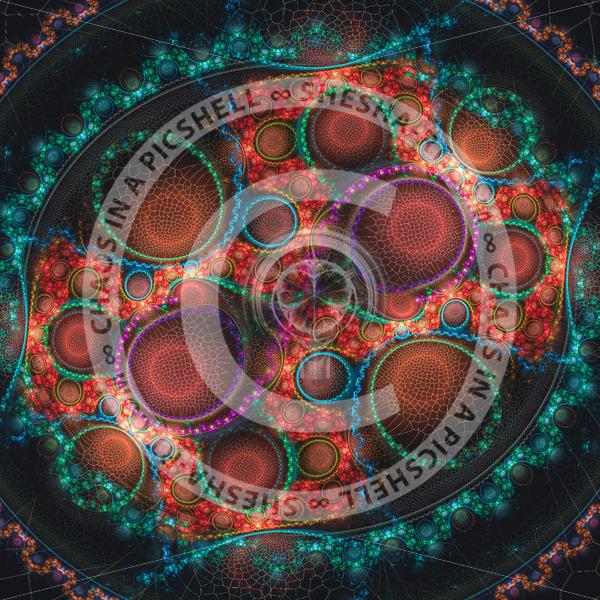 Colorful circular shapes - shesha_rt