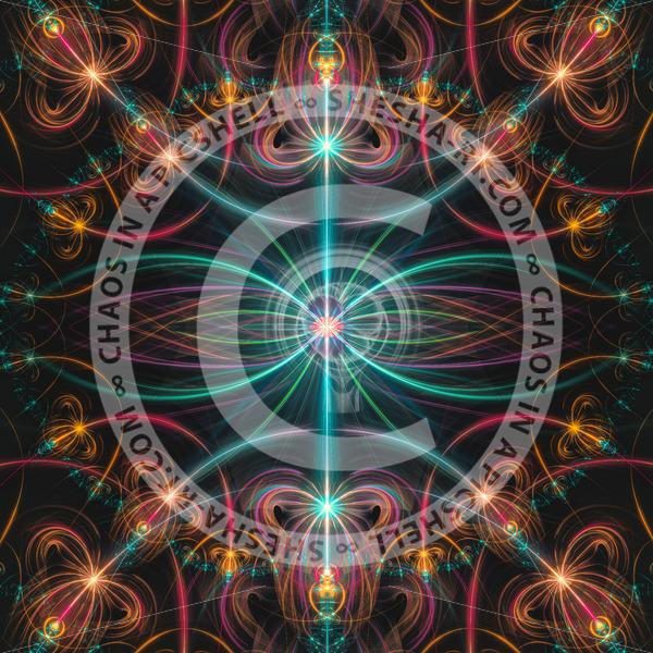 Fluorescent laser beams - shesha_rt